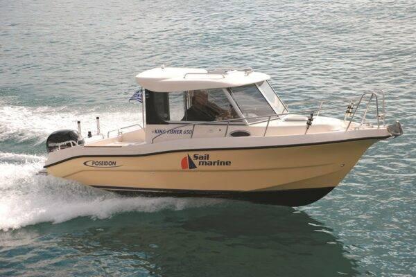 Poseidon King Fisher 650 mit 150 PS
